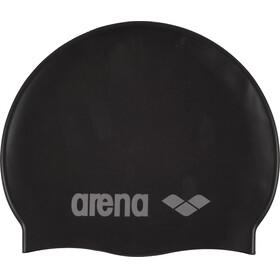 arena Classic Silicone Swimming Cap Juniors black-silver